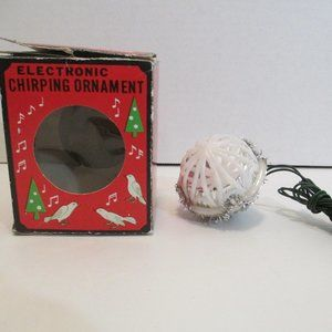 Other - Electronic Chirping Christmas Ornament